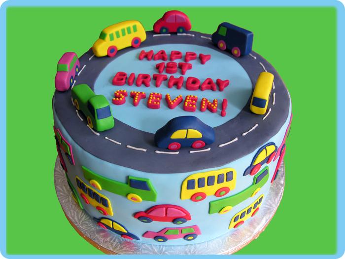 Images Of 1st Anniversary Cake : Stacey Richman Allen : Marimekko Cake